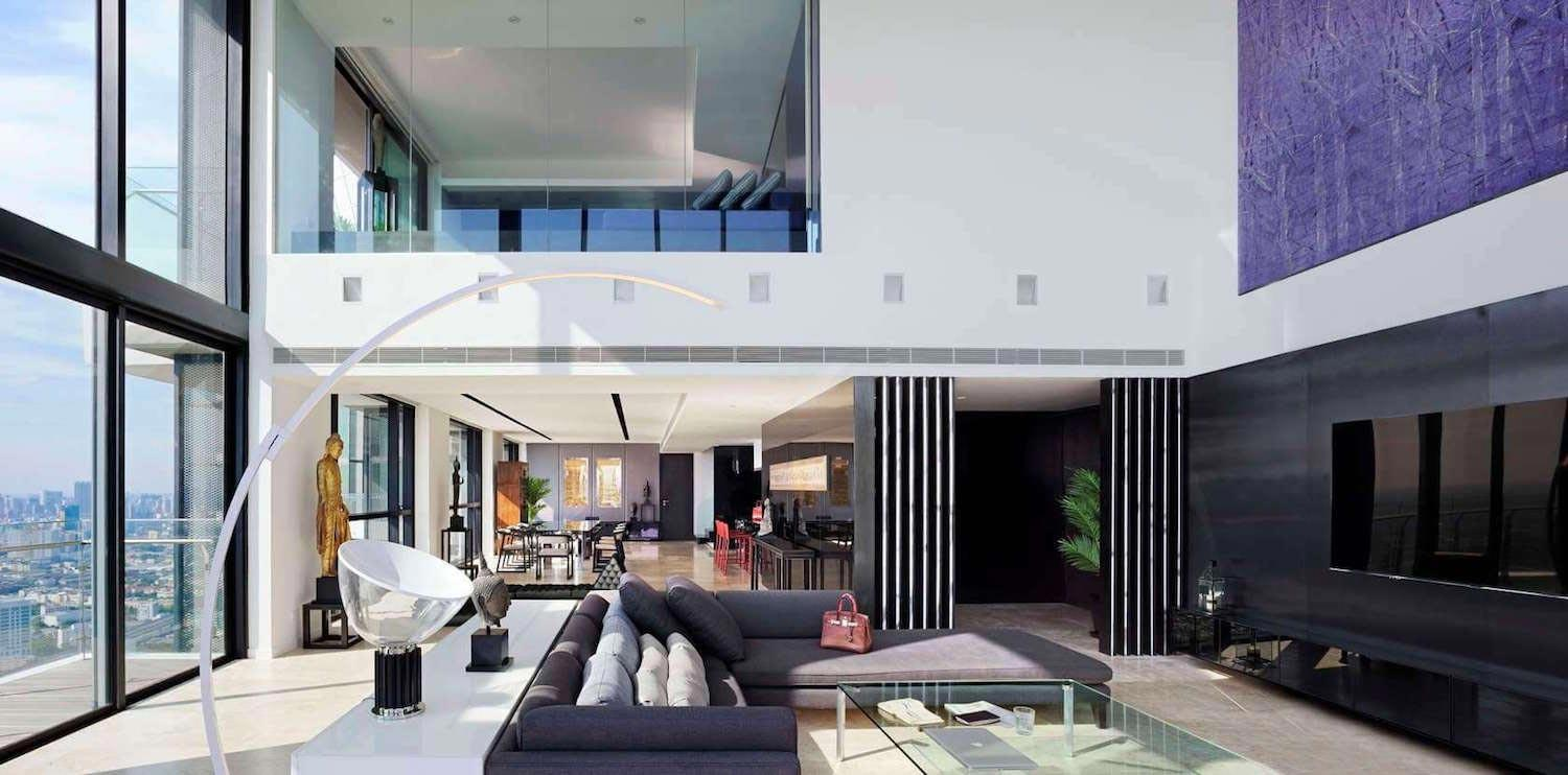 Modern Pano Penthouse Situated 53th 55th Floor