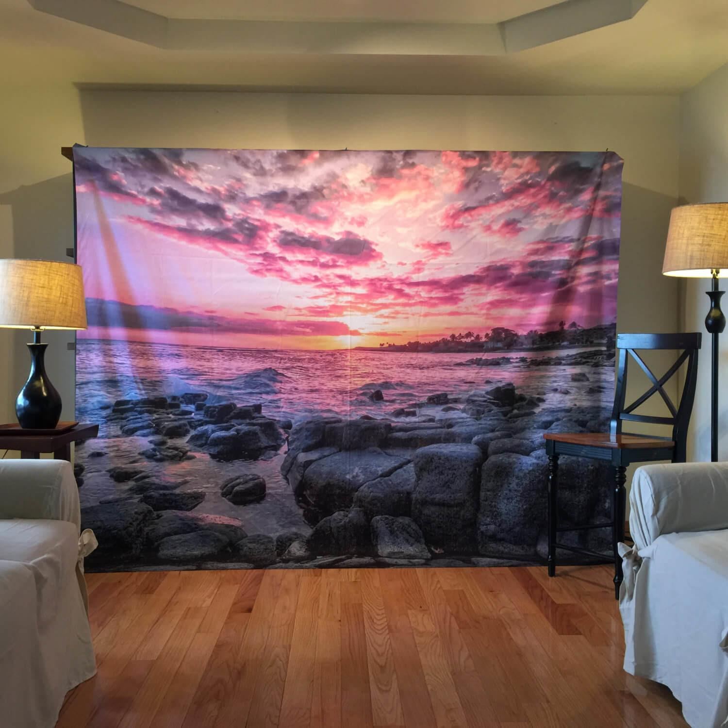 Modern Pink Wall Tapestry New Decoration Decorating
