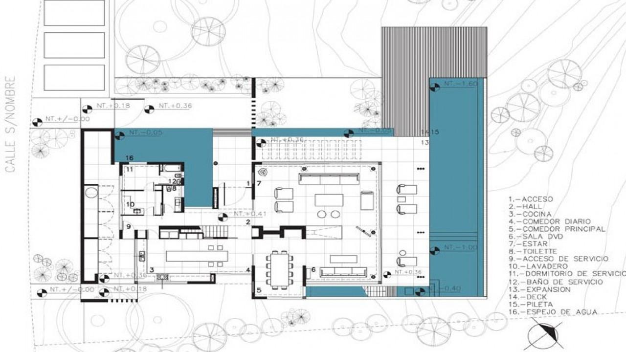 Modern Plan House Residential Architecture
