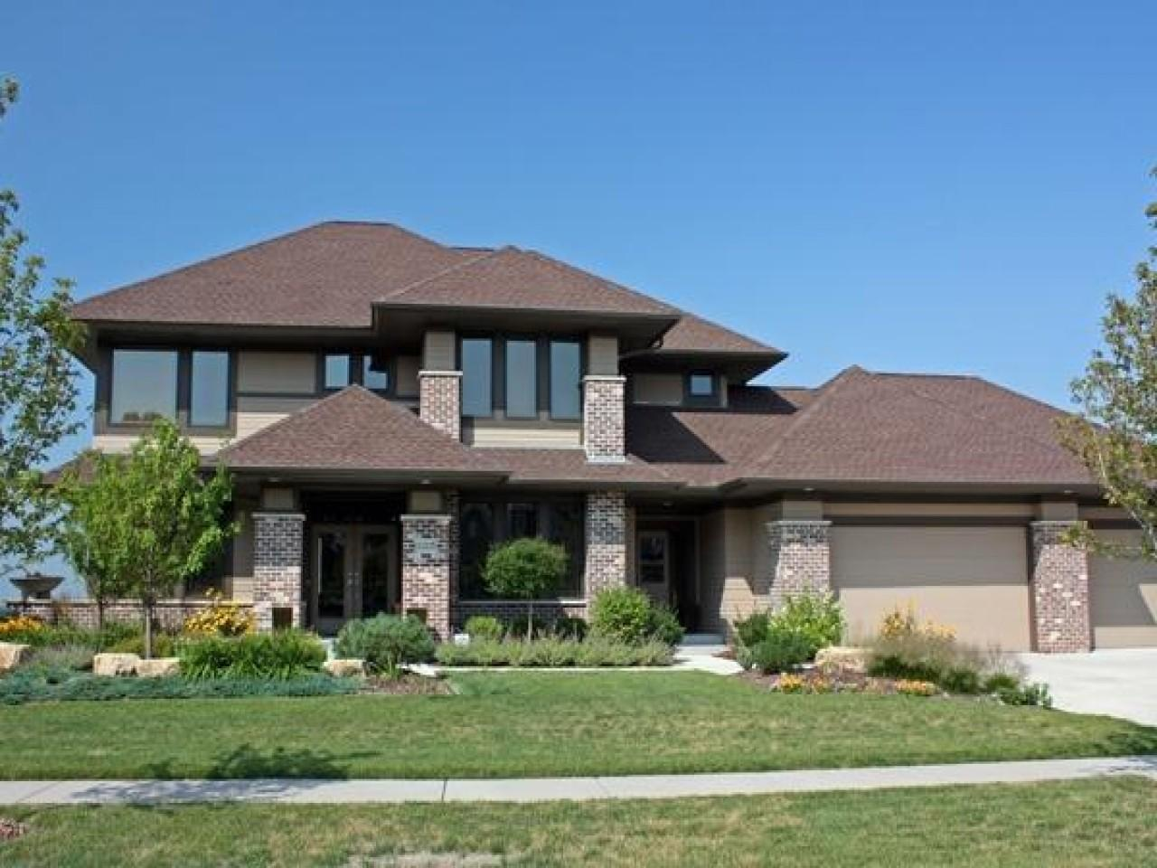 Modern Prairie Style House Plans Ranch Homes Contemporary