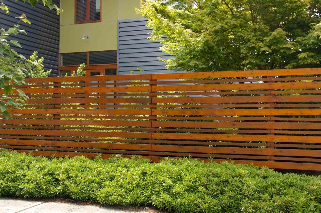 Modern Privacy Fence Designs Ideas