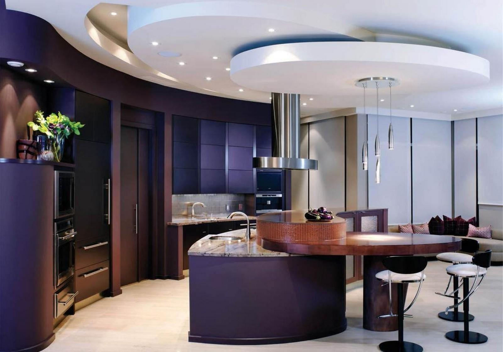 Modern Recessed Lighting Kitchen Ceiling Luxury