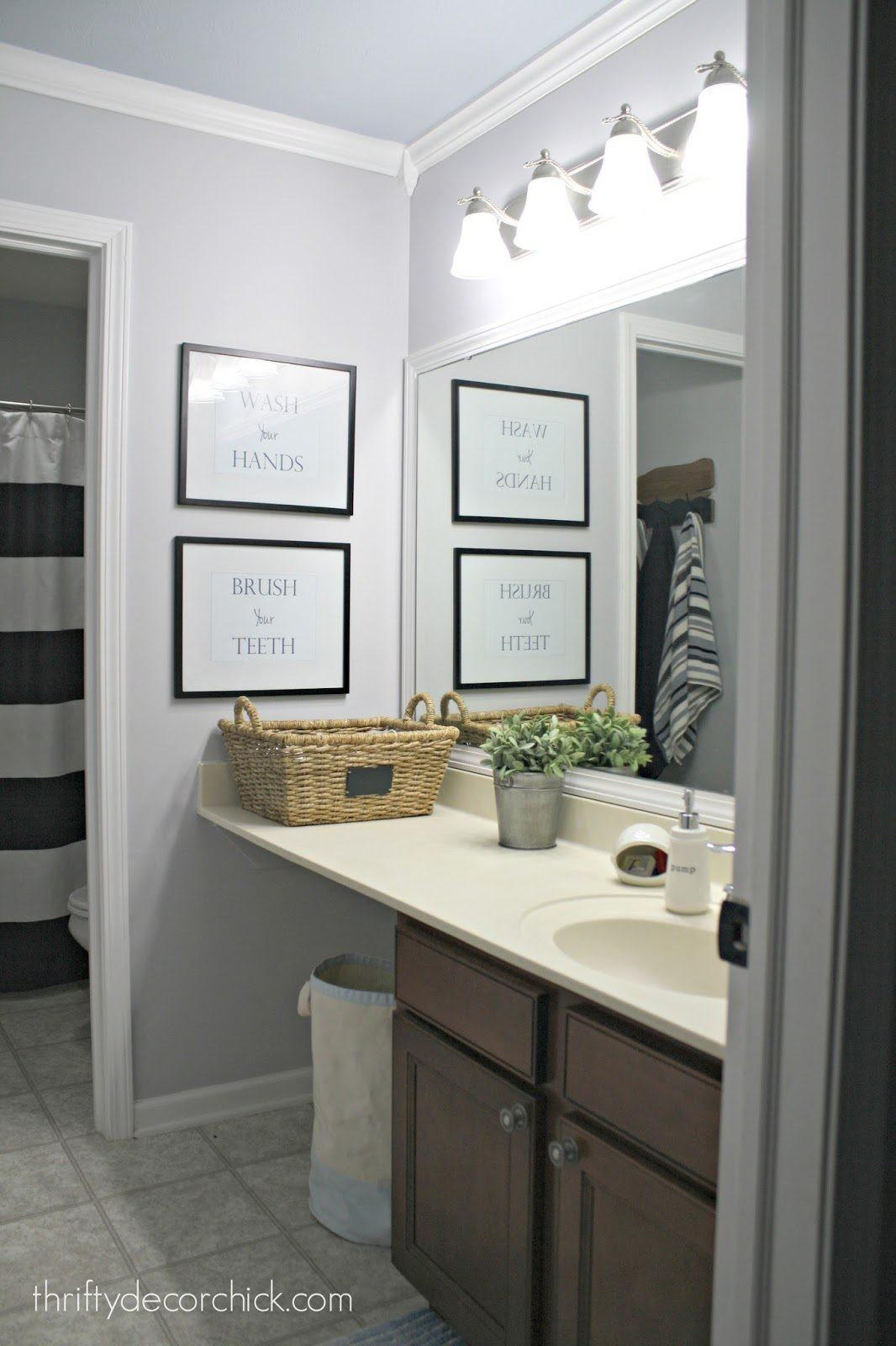 Modern Redo Small Bathroom Remodel Makeover Ideas