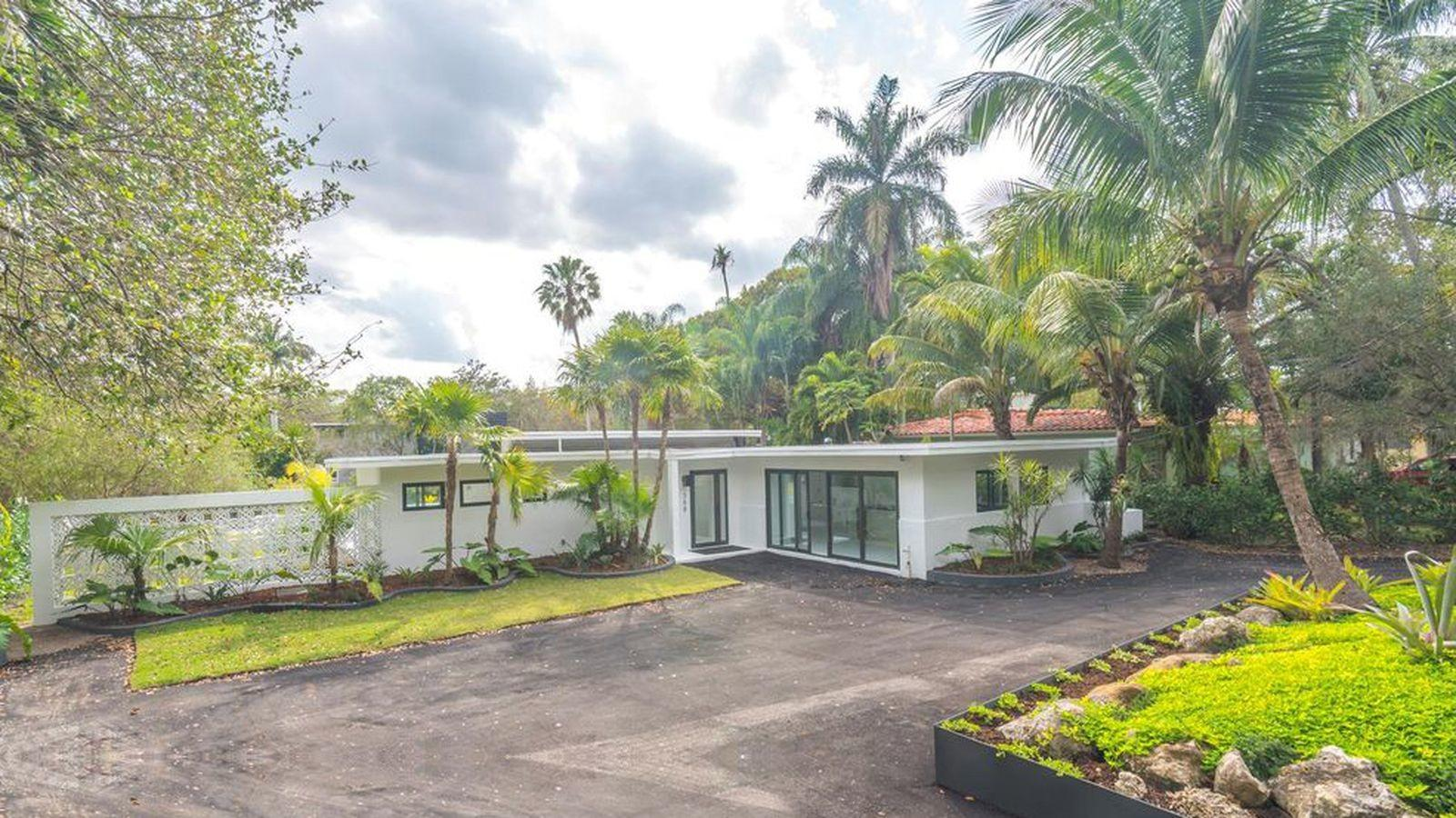 Modern Renovated Home Portal Asking Curbed Miami