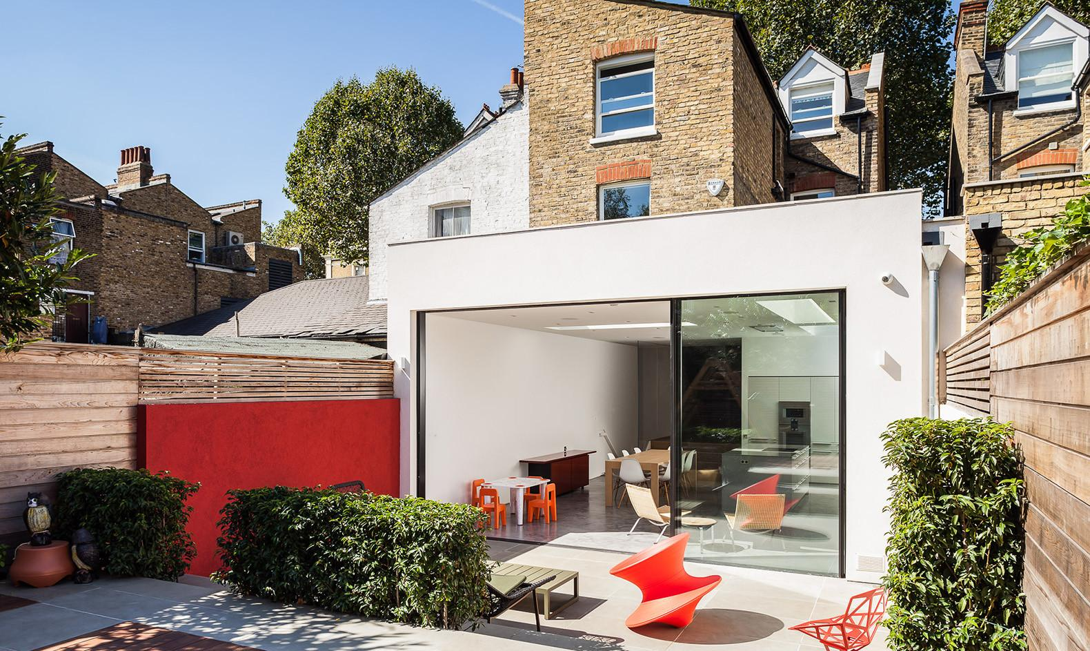 Modern Renovation Reconnects London Home Its