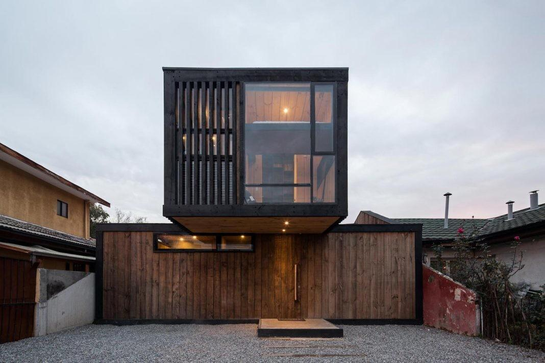 Modern Rustic Aspect Residence Situated Closed
