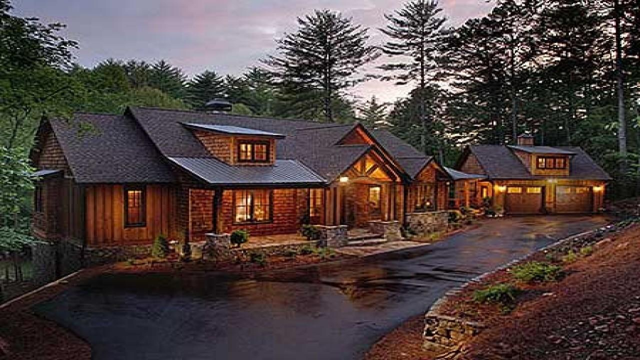 Modern Rustic Ranch Home Plans