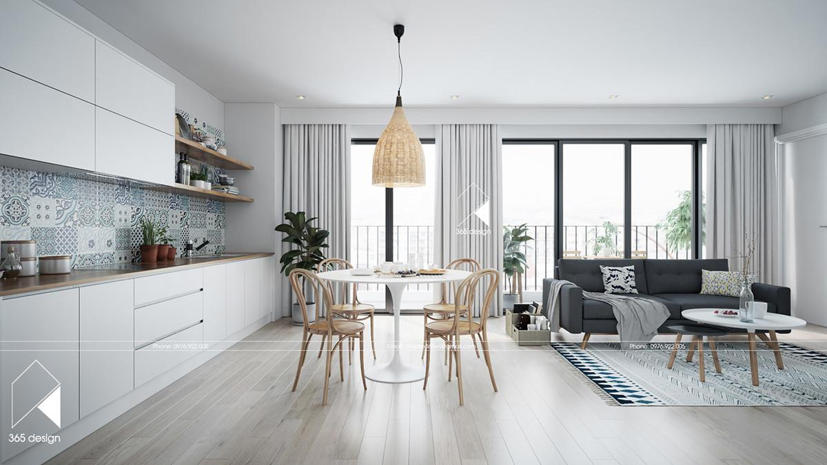 Modern Scandinavian Design Home Interior Completed
