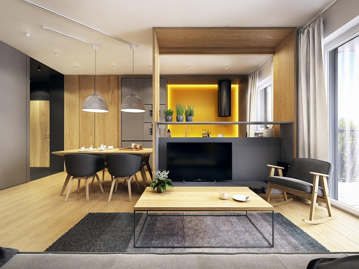 Modern Scandinavian Inspired Apartment Ingenius
