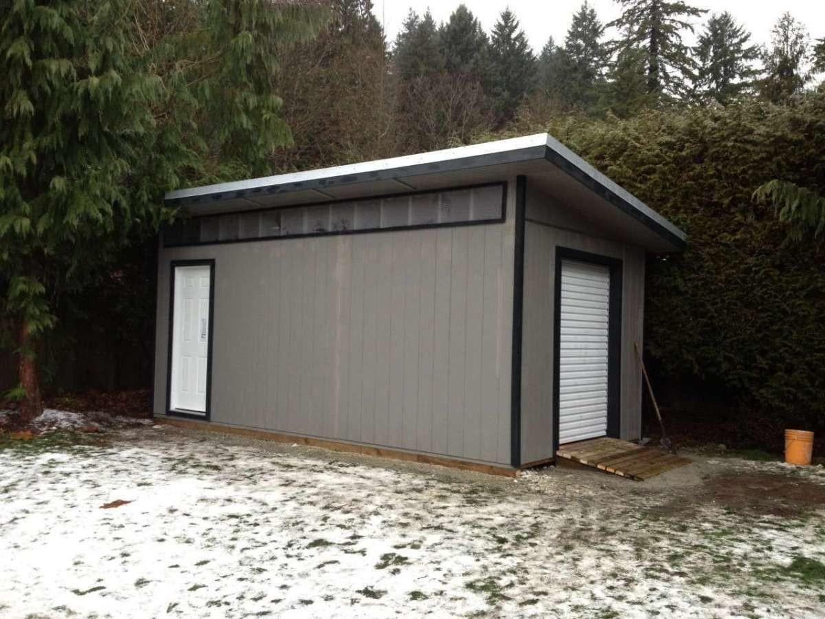 Modern Shed Vancouver House