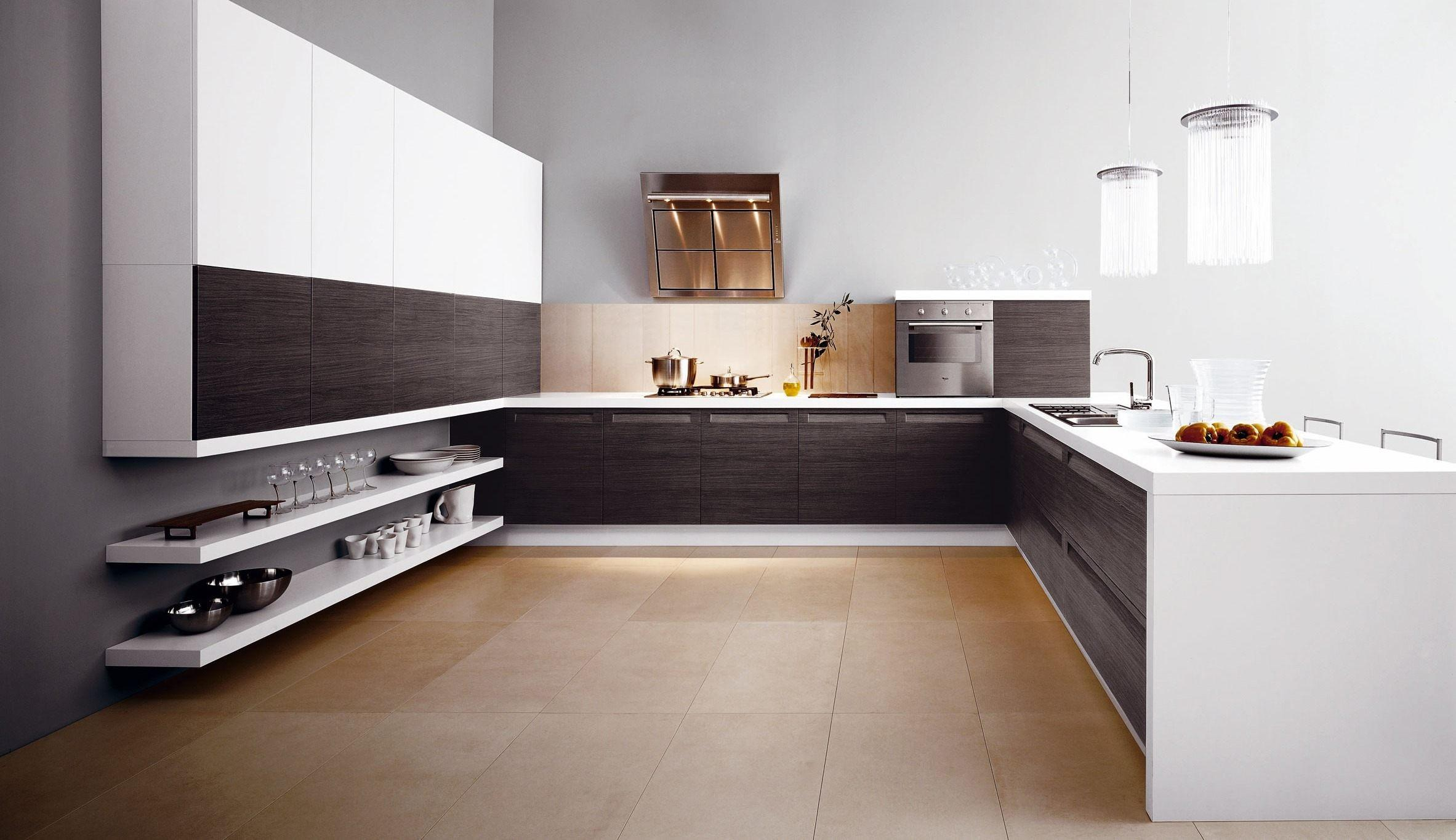 Modern Simple Spacious Kitchen Stylehomes