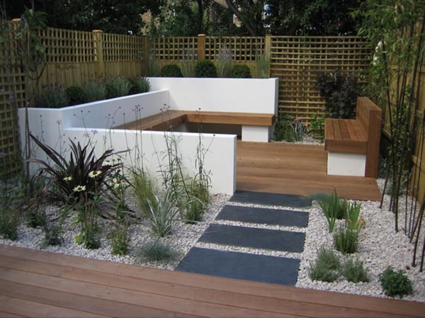 Modern Small Garden Design Ideas
