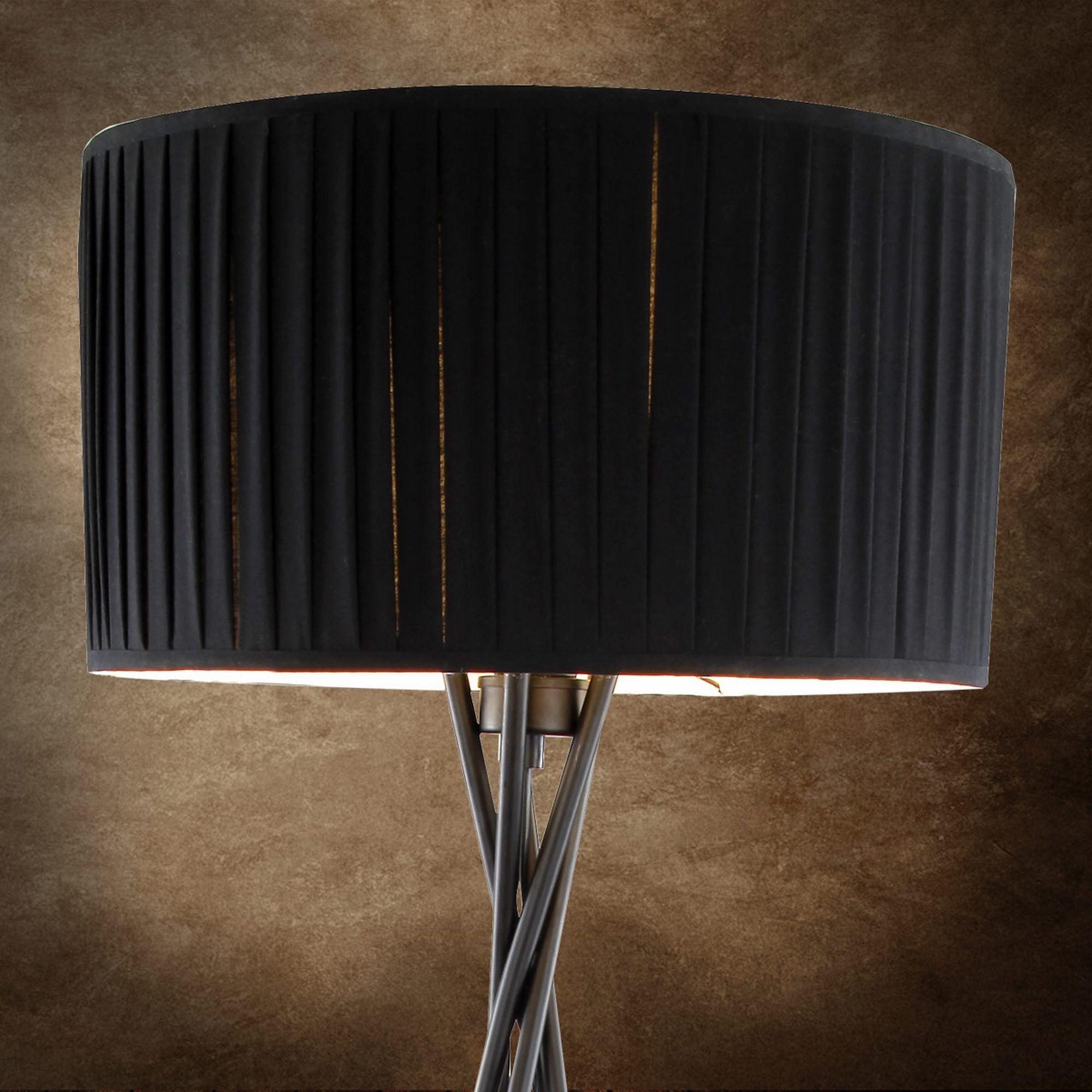 Modern Standard Floor Lamp Living Room Black