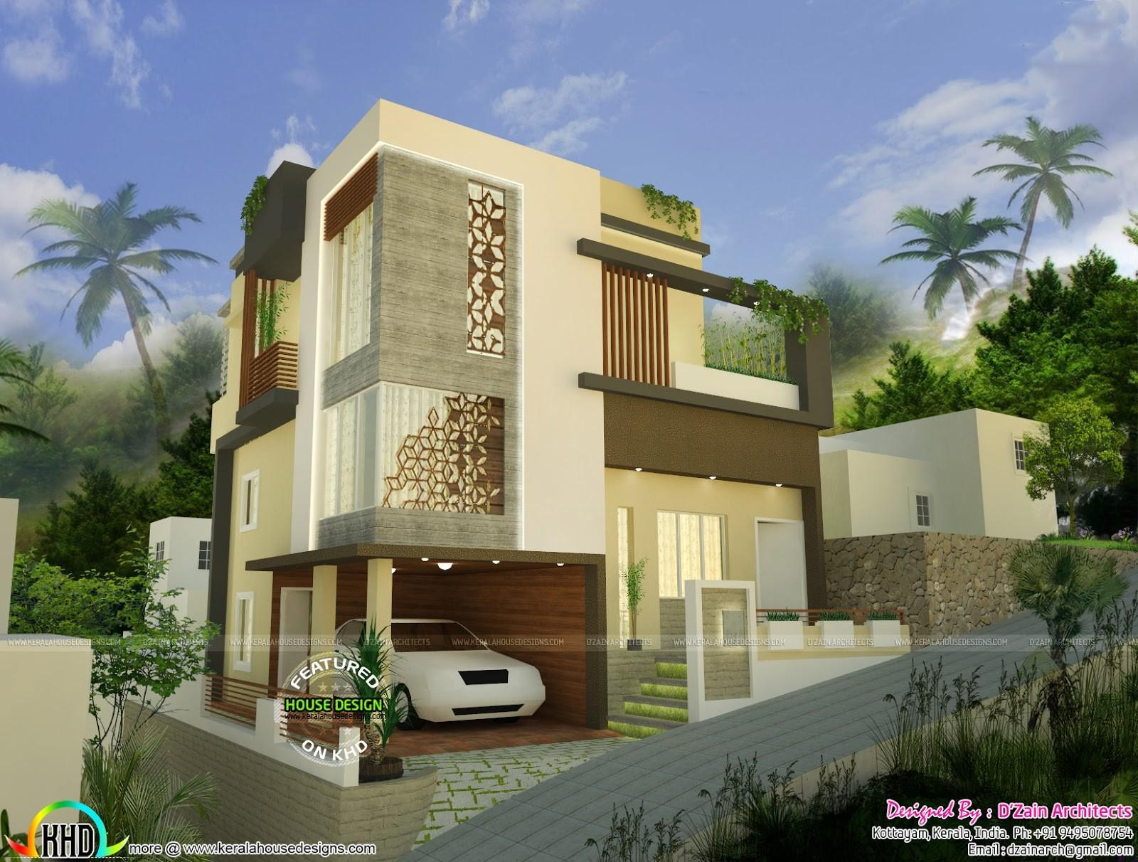 Modern Style Home Design Cents Kerala