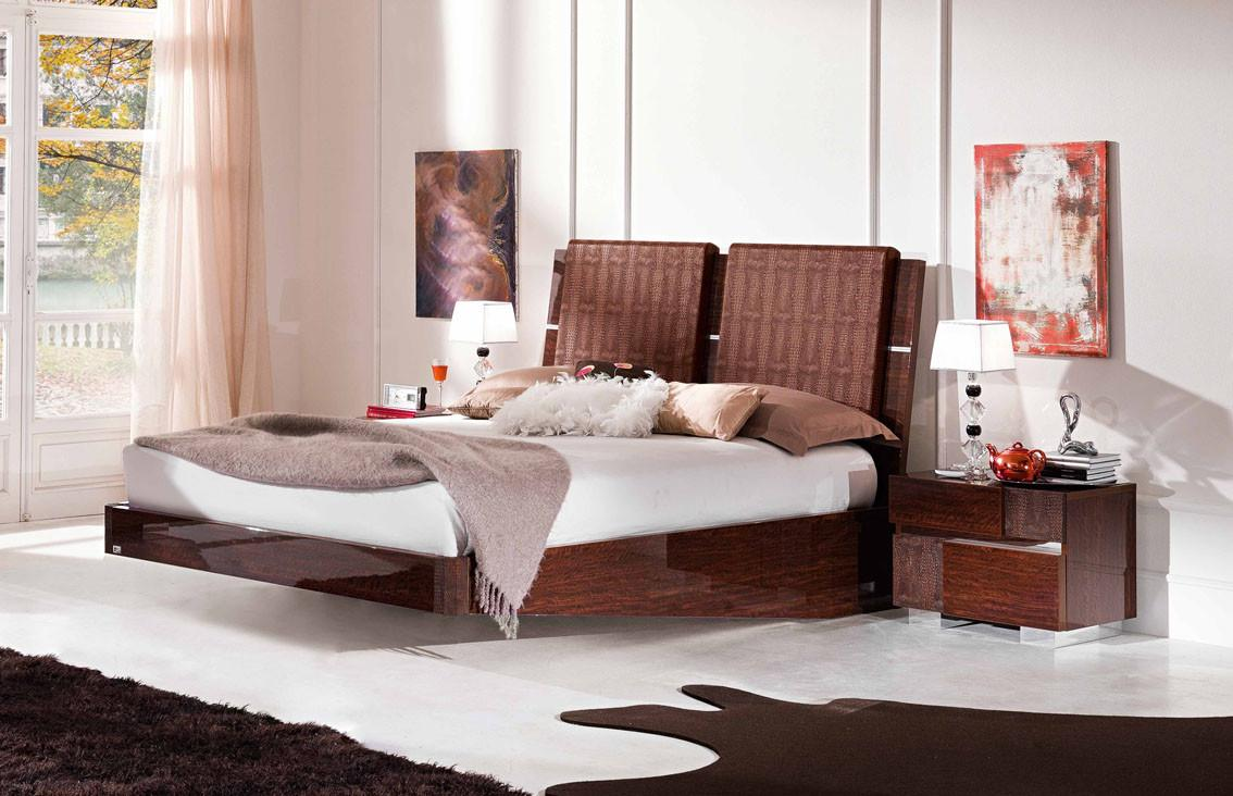 Modern Stylish Beds Bedroom Mid Century Natural