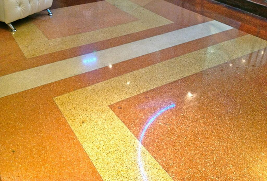 Modern Terrazzo Flooring Home Decorating Ideas Ornge