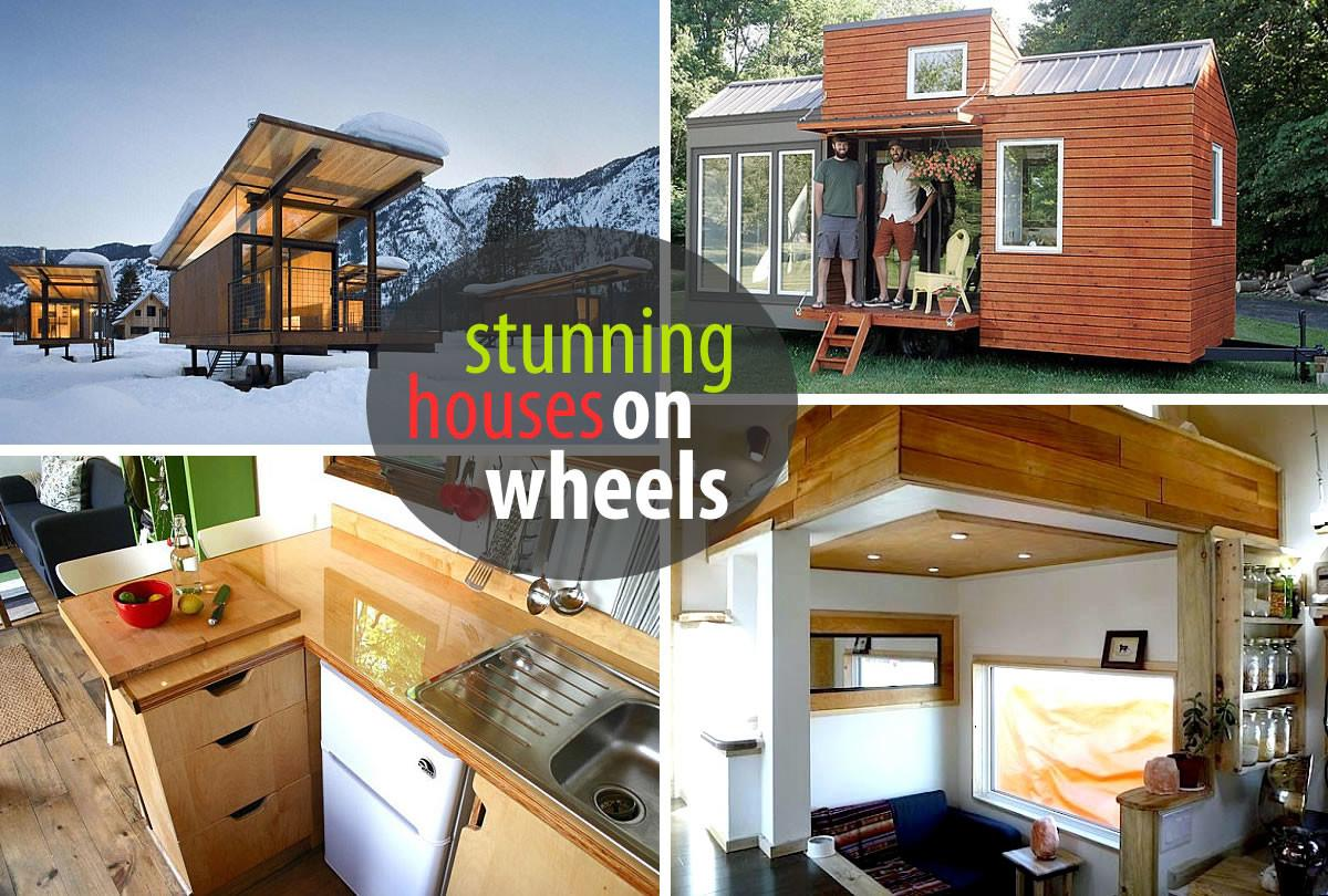 Modern Tiny House Wheels Withal Houses
