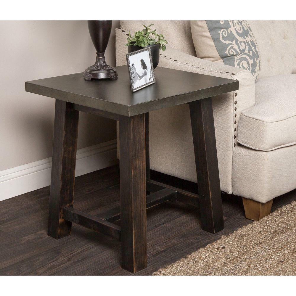 Modern Traditional End Table Furniture Living Room