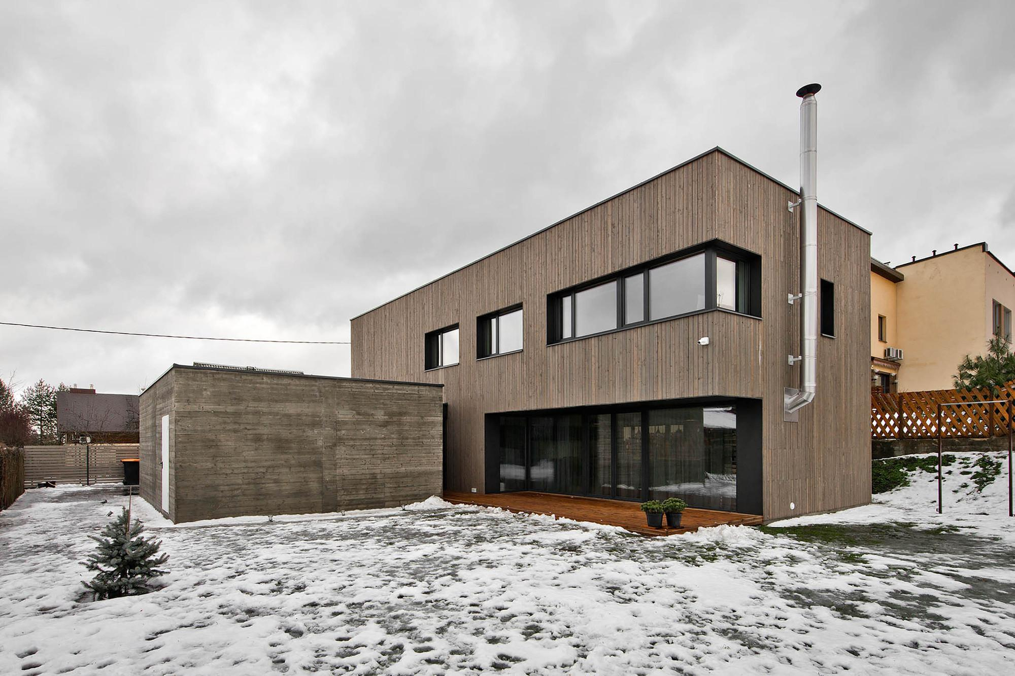 Modern Two Story Home Vilnius Lithuania