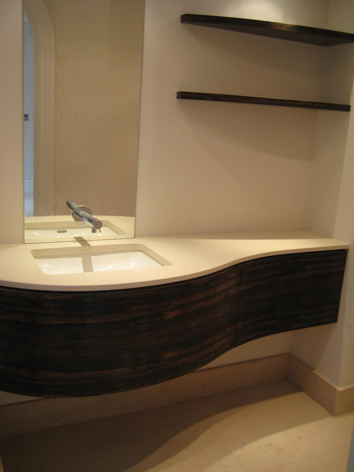 Modern Vanity Unit Bespoke Furniture