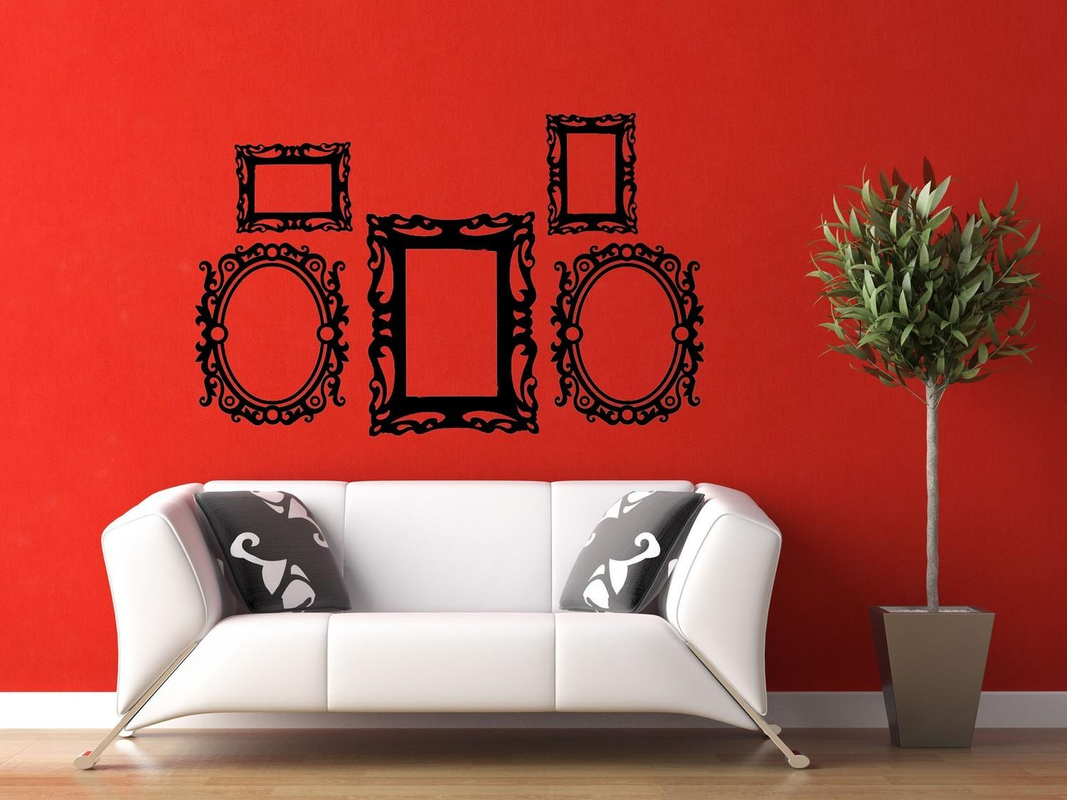 Modern Wall Decals Design Nature Decal Silhouette