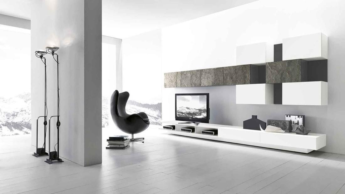 Modern Wall Unit Comp 223 Presotto Italy Neo