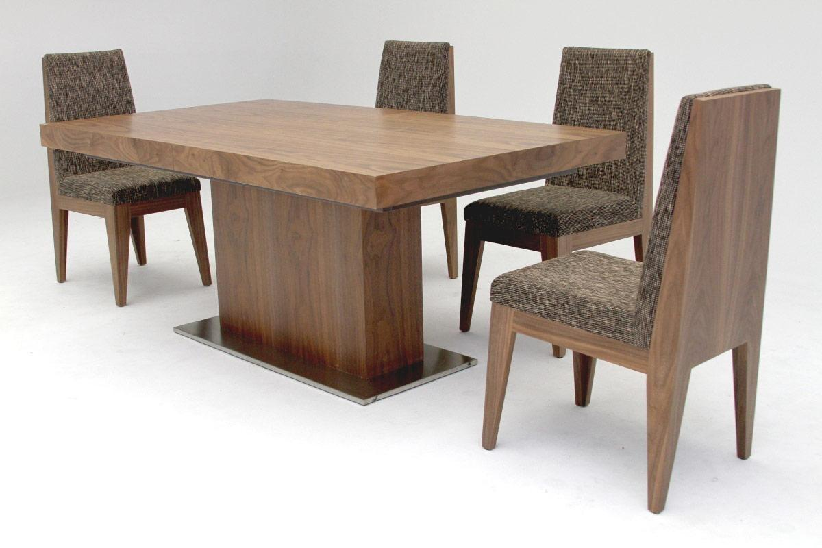 Modern Walnut Dining Table Delmaegypt