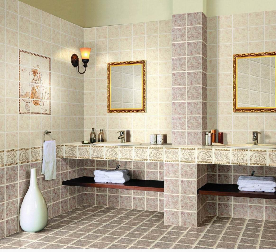 Modern Washroom Bathroom Tiles Decosee