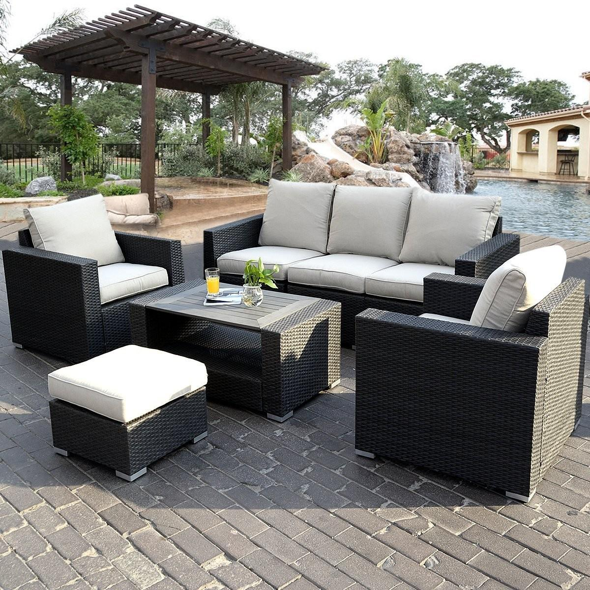 Modern Wicker Patio Furniture Design Decorating Mag