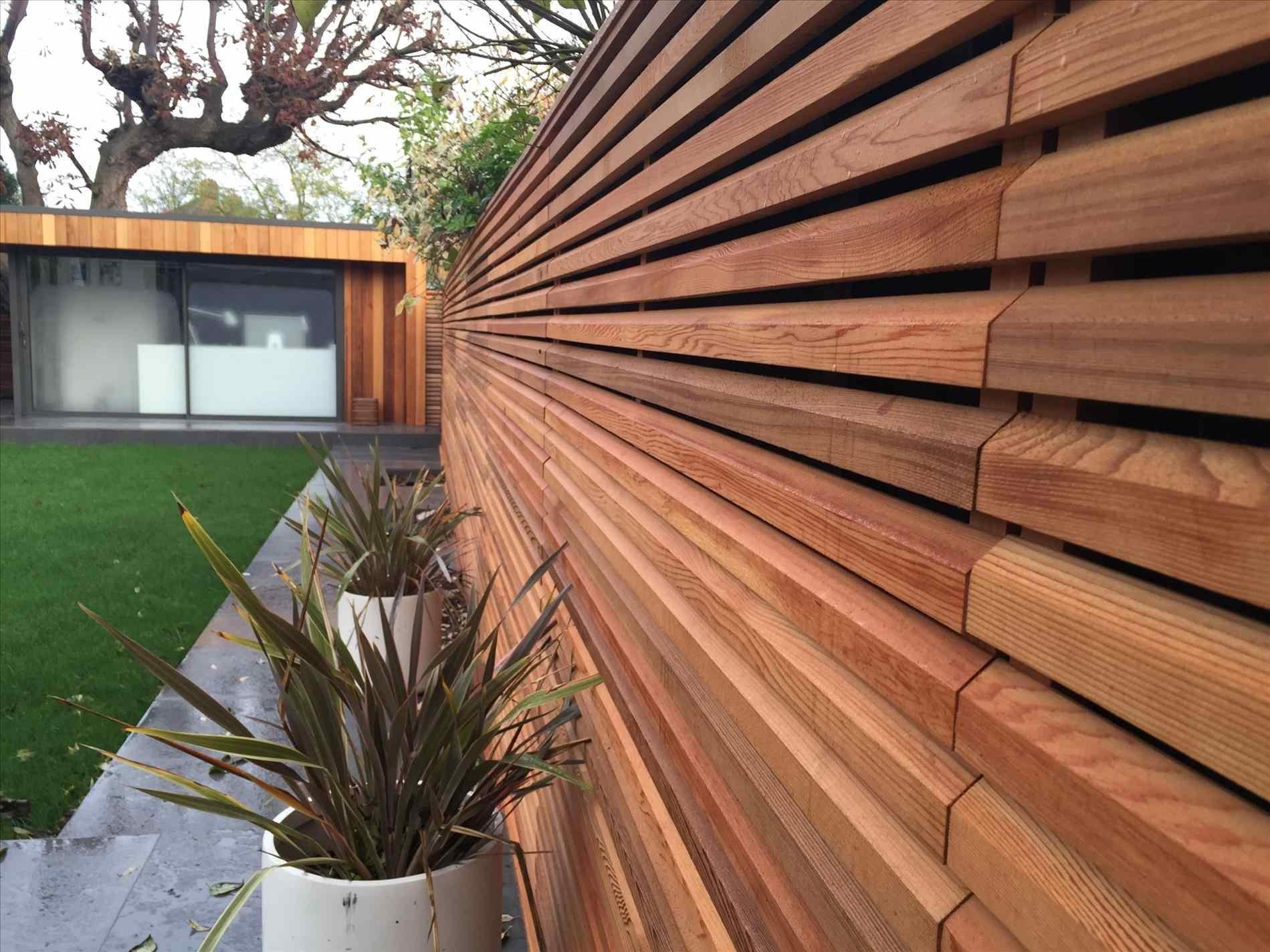 Modern Wood Fence Panels Home Gardens Geek
