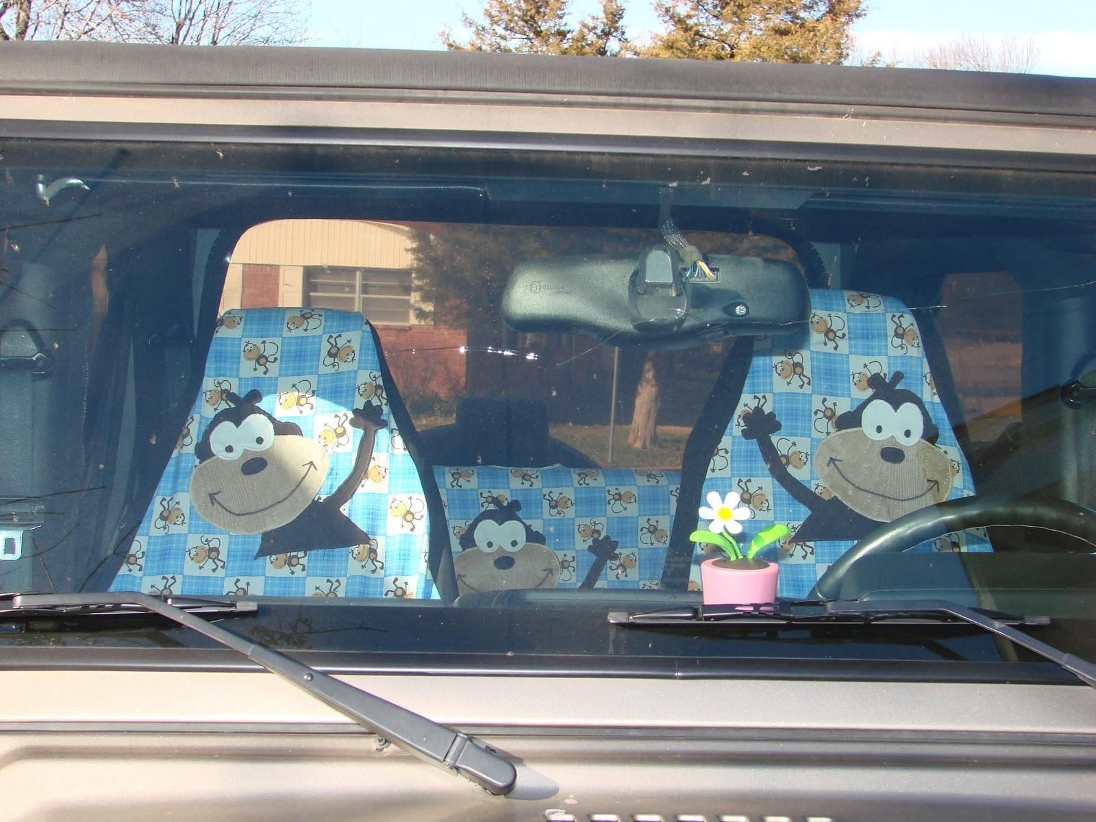 Modestmaiden62 Diy Seat Cover Our New Jeep