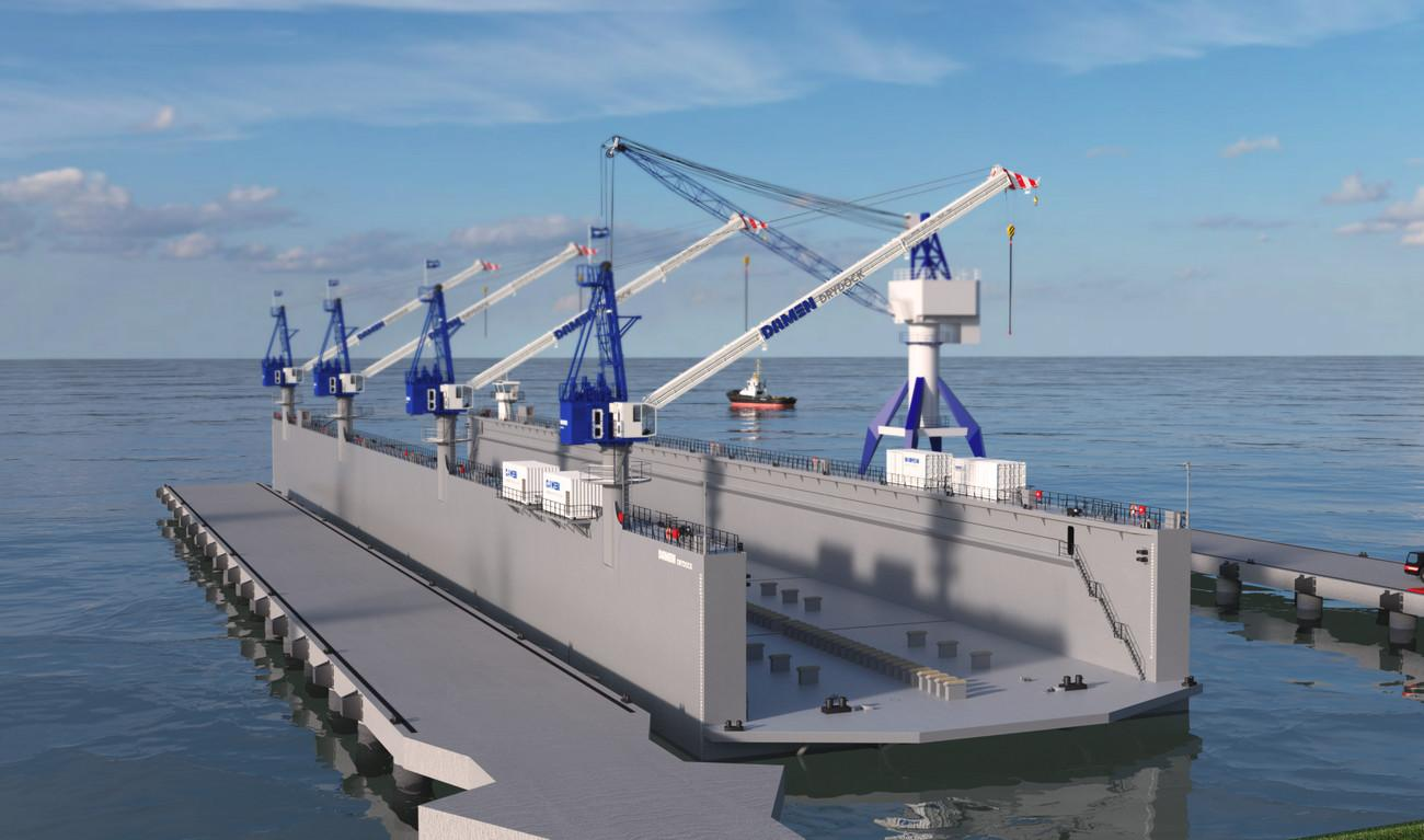 Modular Floating Drydock Vessels 500