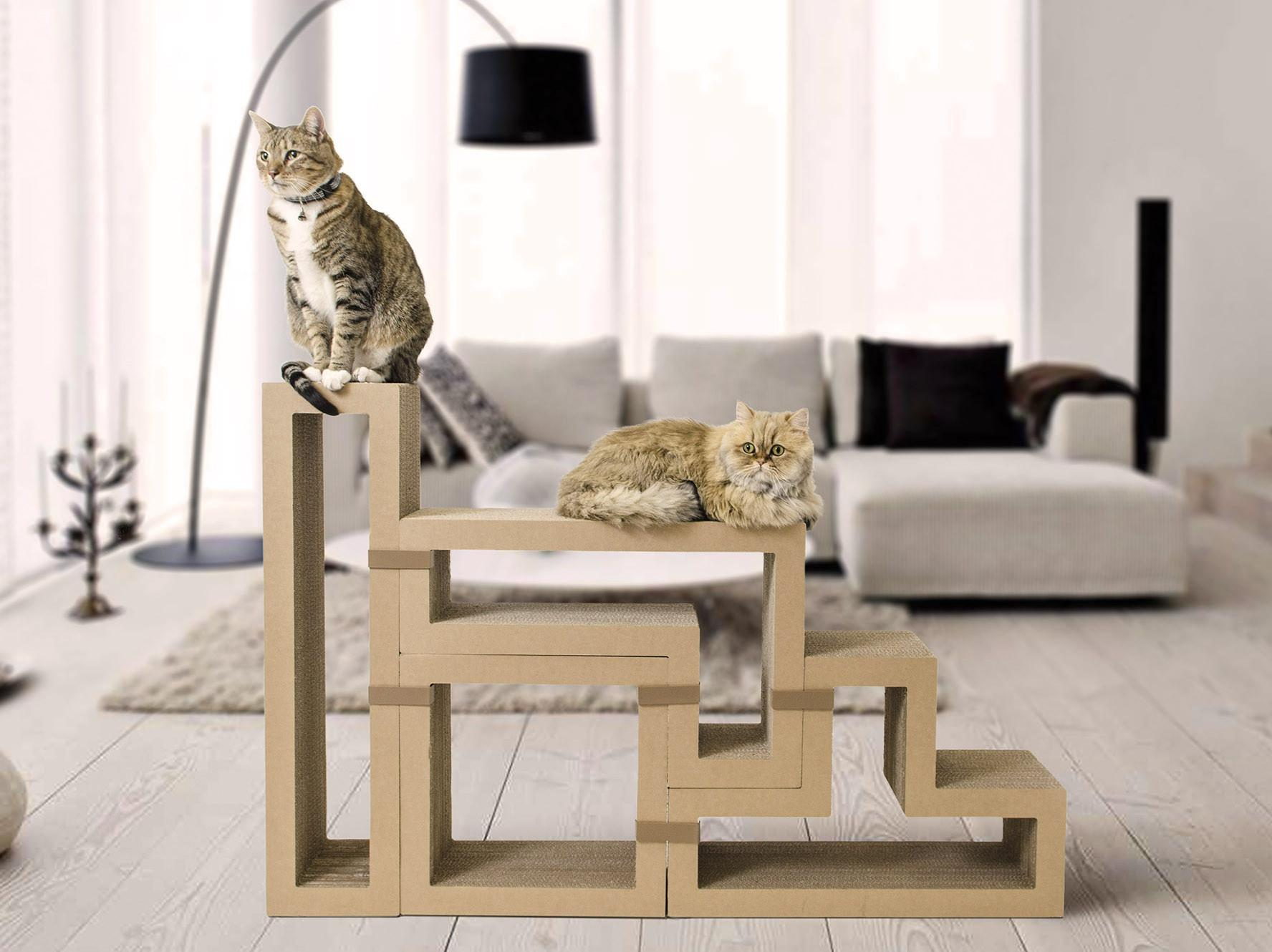 Modular Furniture Works Humans Cats Curbed