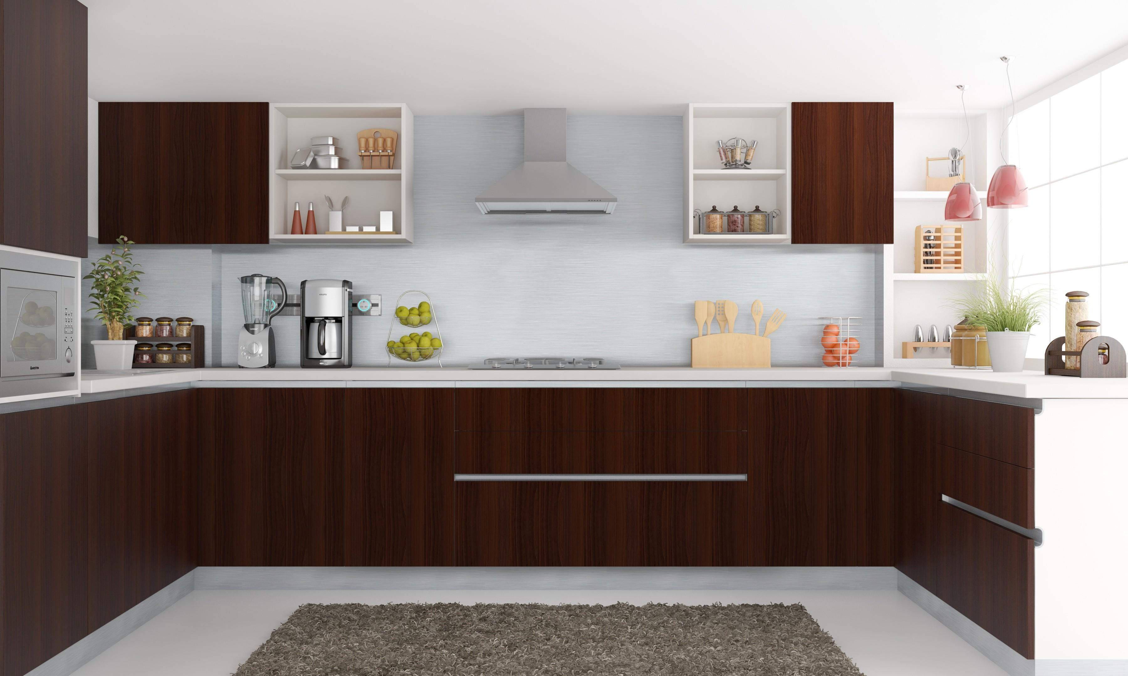 Modular Kitchen Wall Cabinets Design Ideas