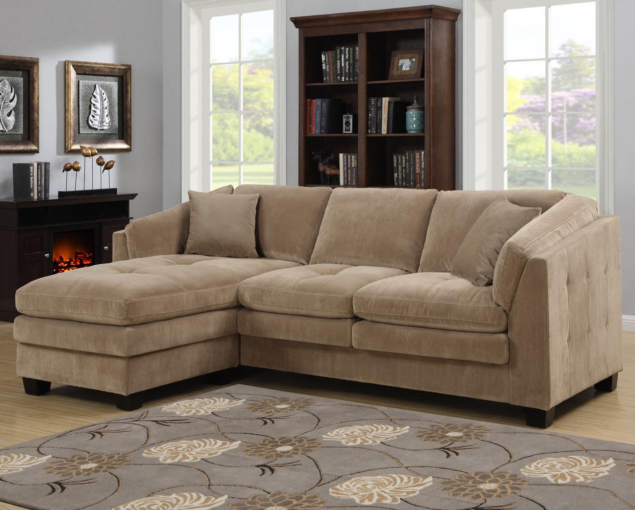 Modular Sectional Sofa Microfiber