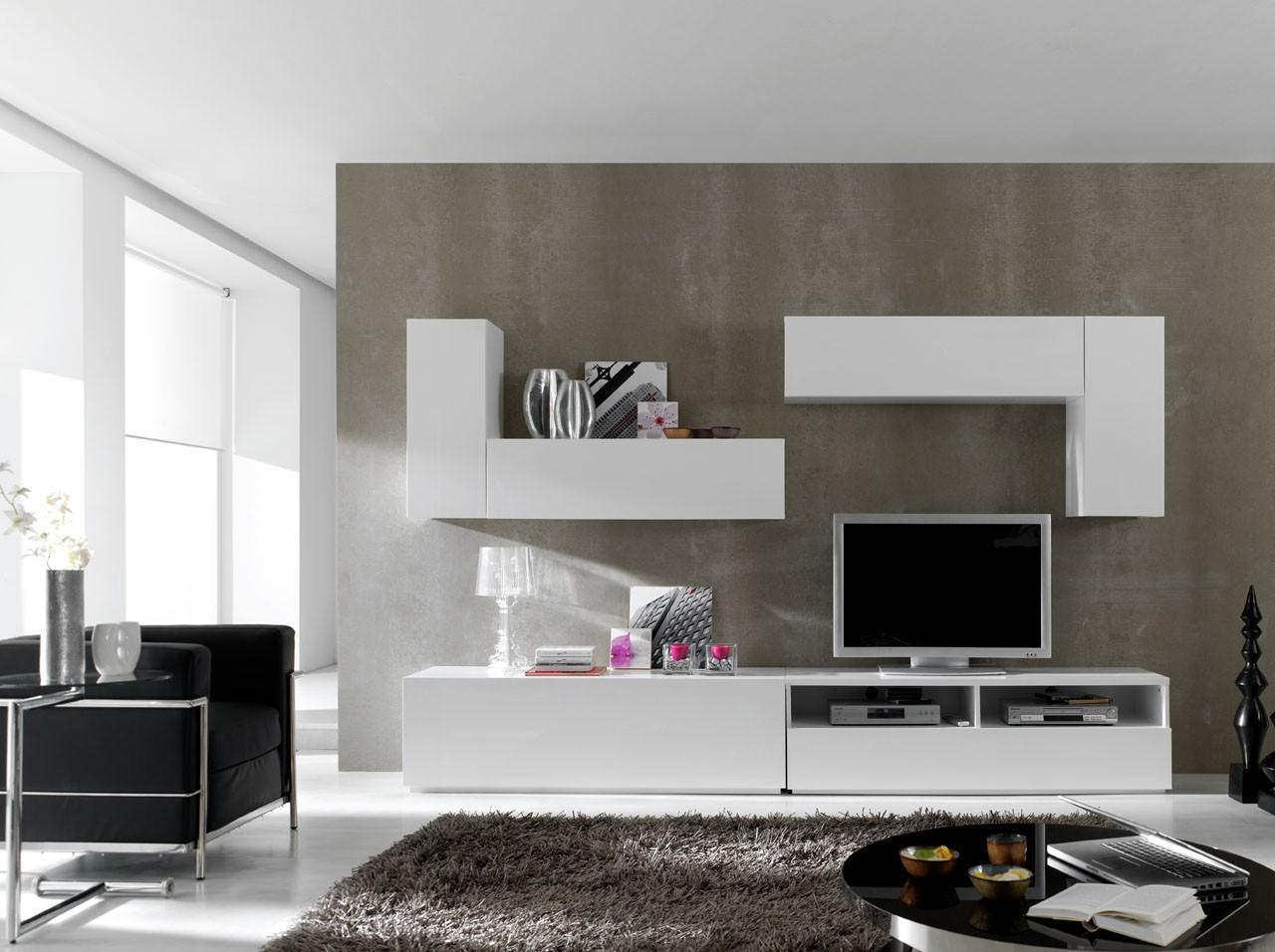 Modular Wall Unit Composition White Buy Best