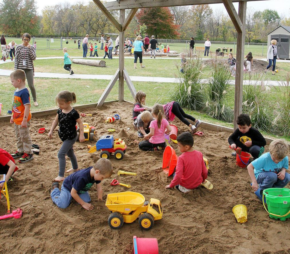 Moline Preschool Opens Outdoor Play Space Education Center