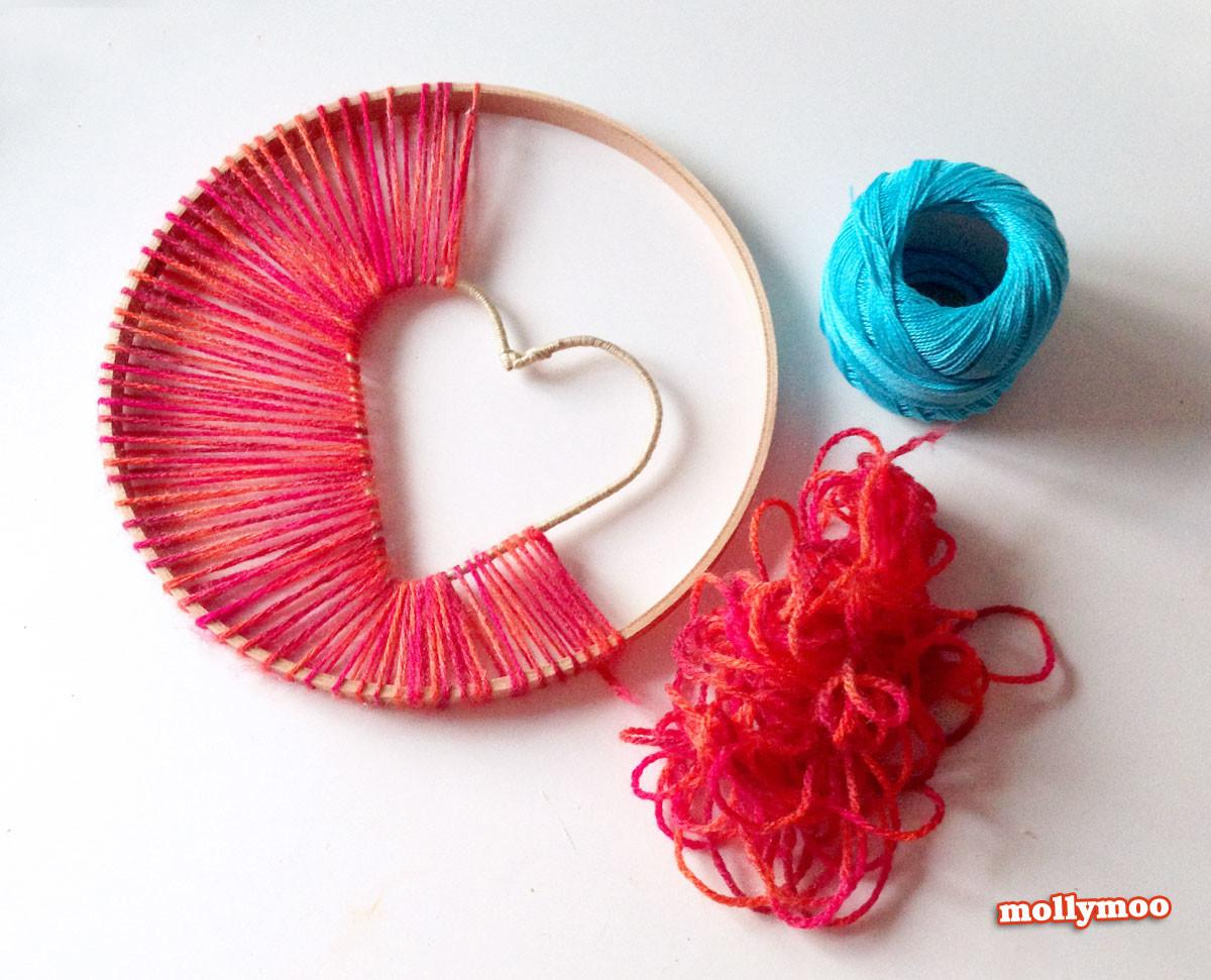 Mollymoocrafts Heart Hope Dreamcatcher