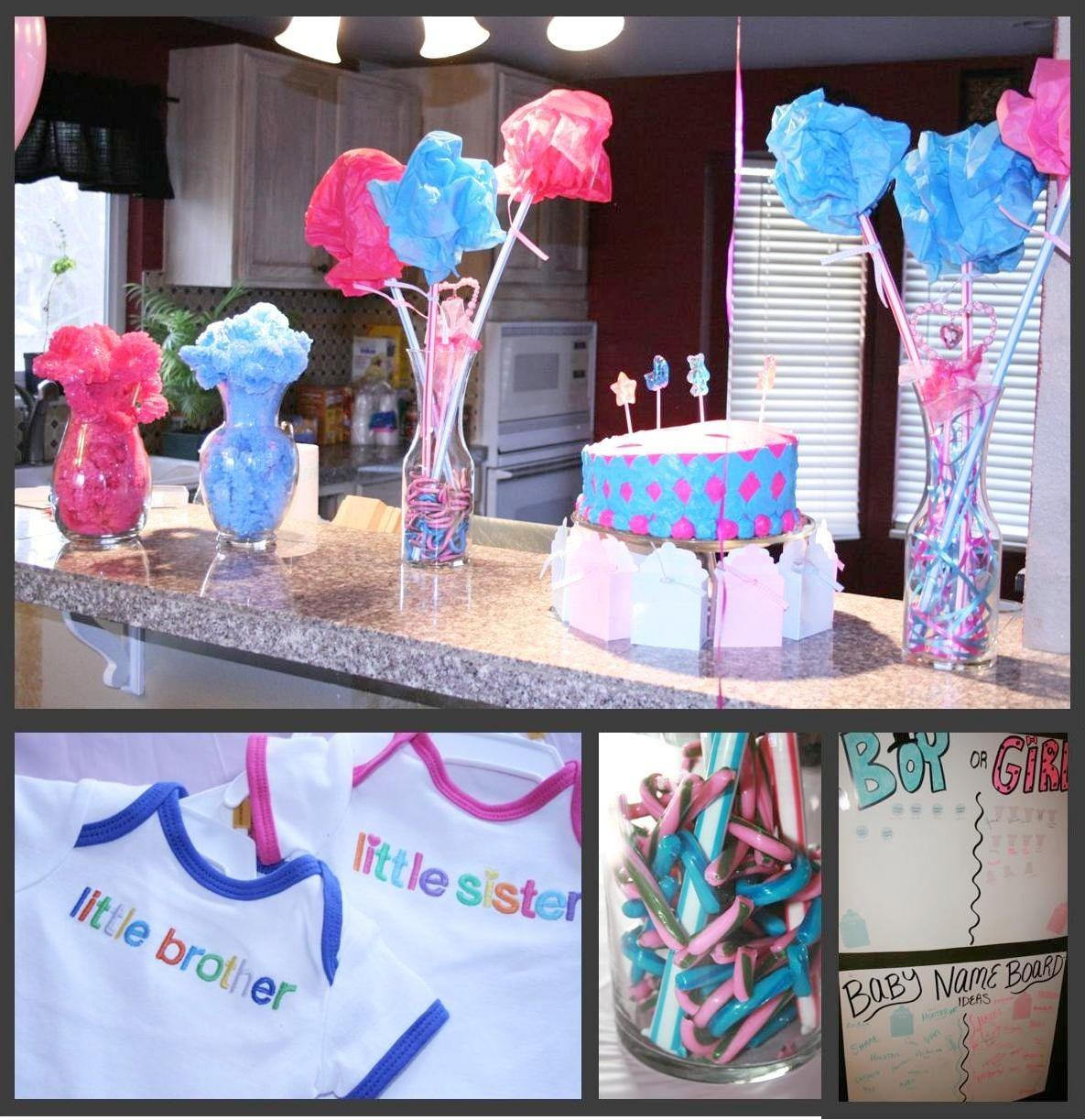 Momma Maven Pink Blue Baby Party Gender Reveal Pics