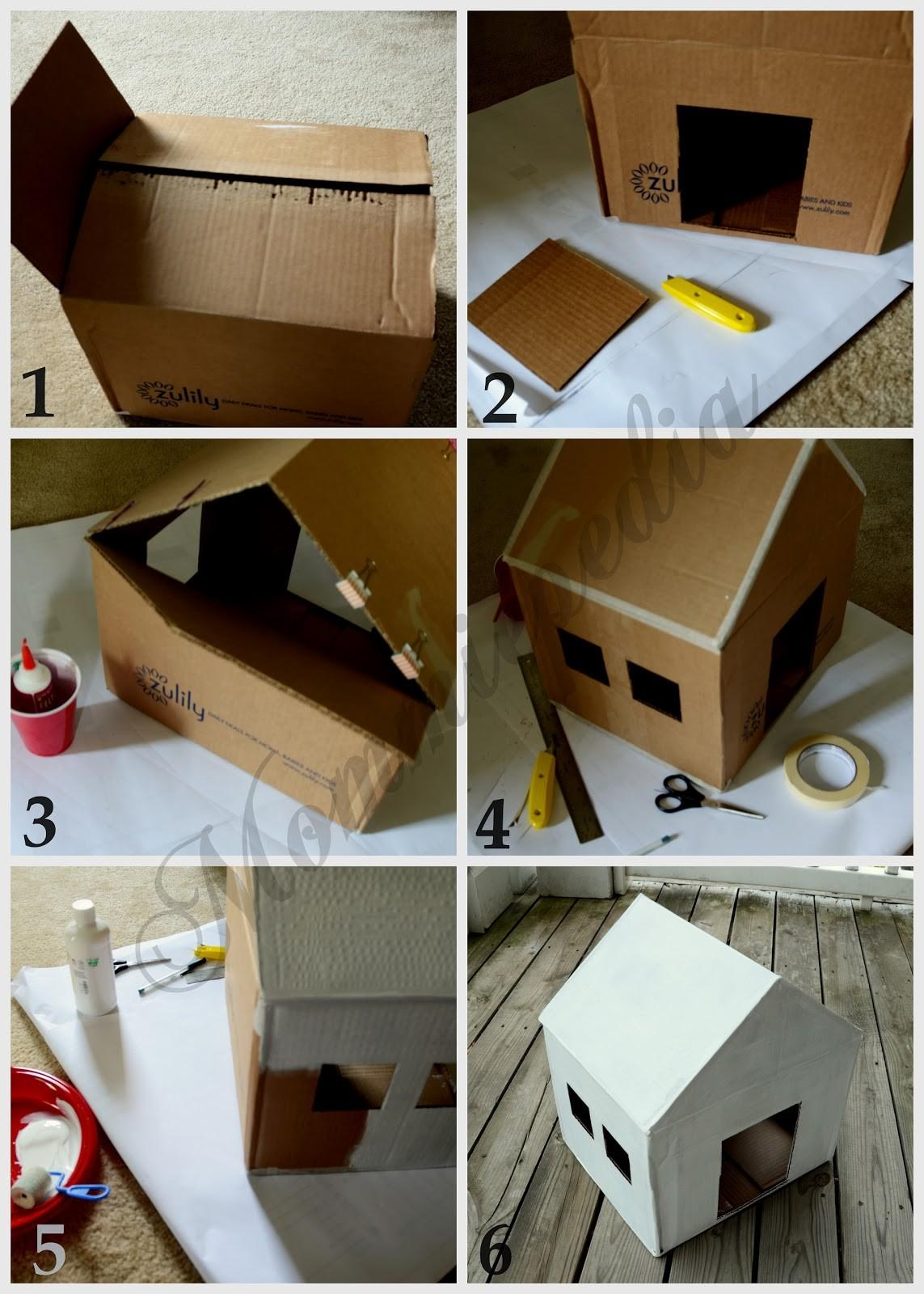 Mommiepedia Dog House Recycled Box
