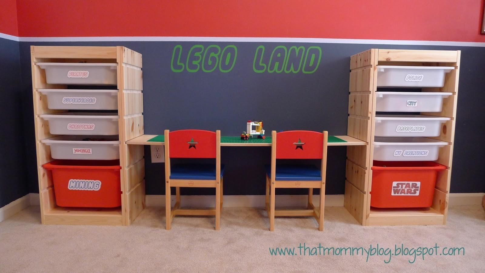 Mommy Blog Lego Storage Play Table Easy