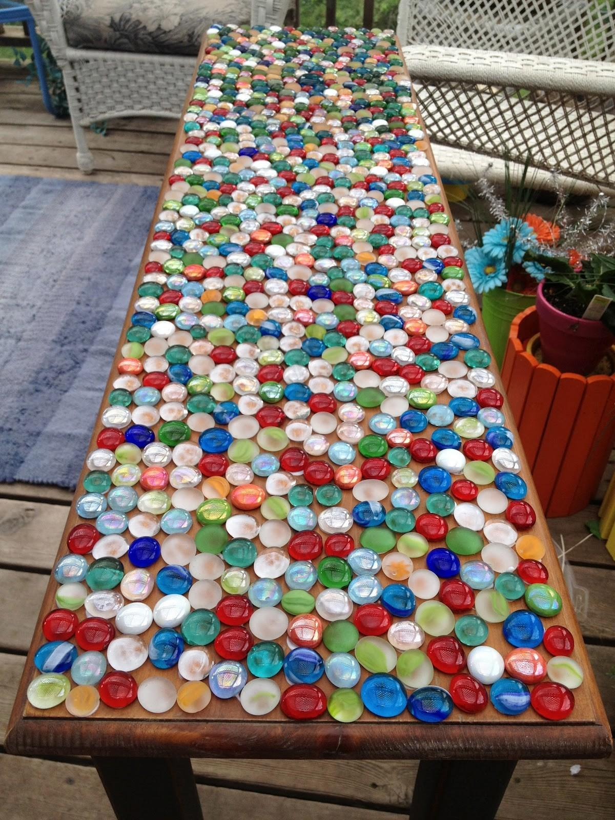 Mommy Projects Marble Mosaic Table Top