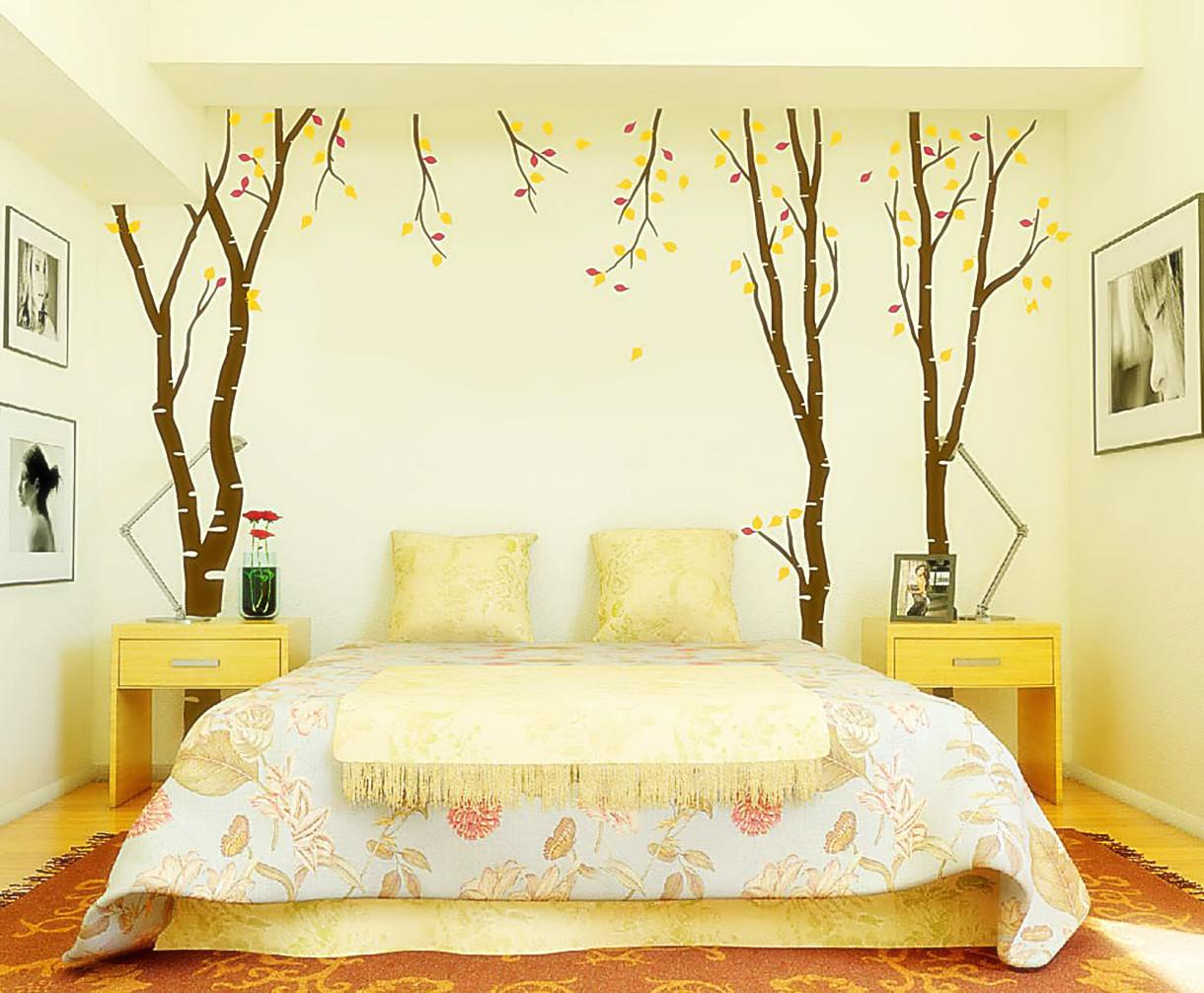Monochromatic Style Bedroom One Color Many Meanings