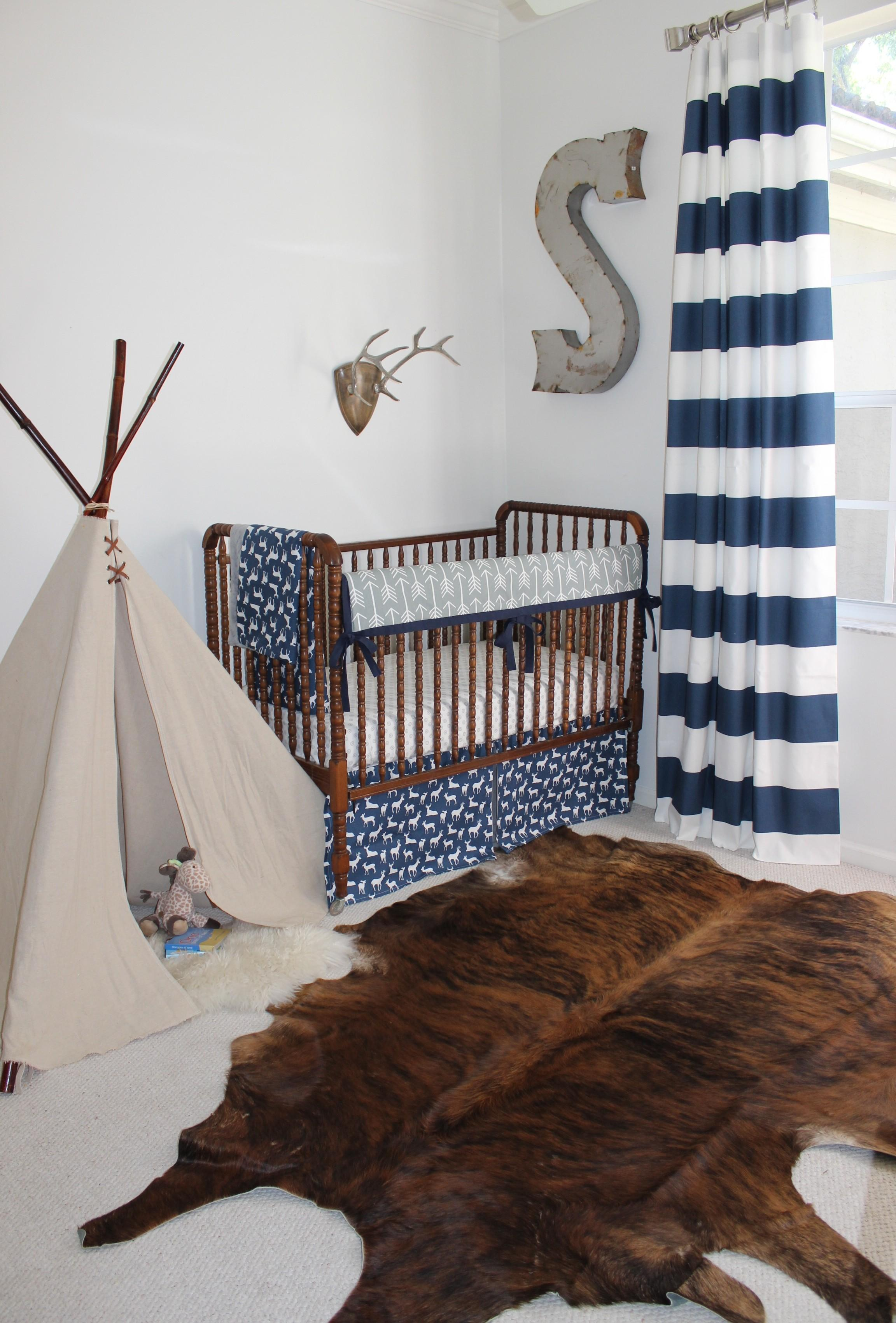 Monogram Rugs Baby Nursery Ideas