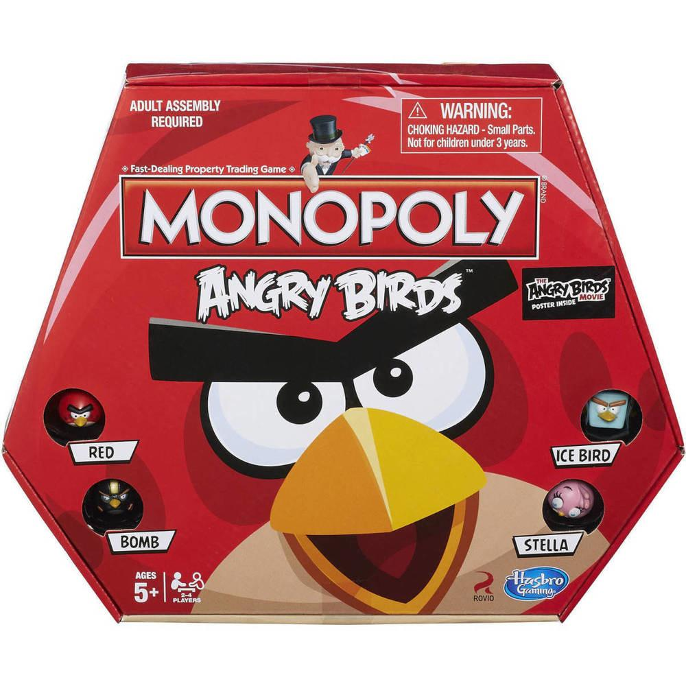 Monopoly Board Game Angry Birds Edition Games Kids Fun