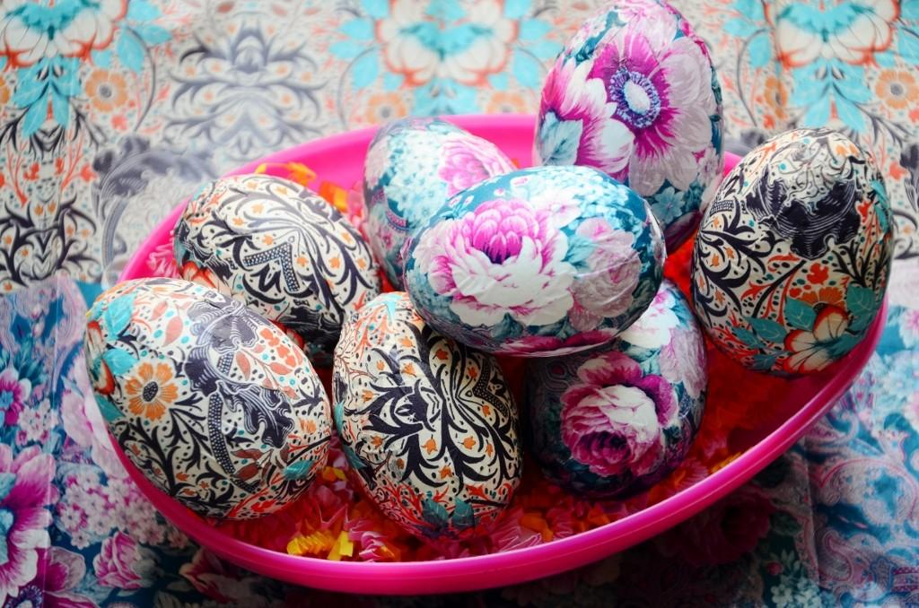 Monthly Diy Tissue Paper Easter Eggs Citizen Erased