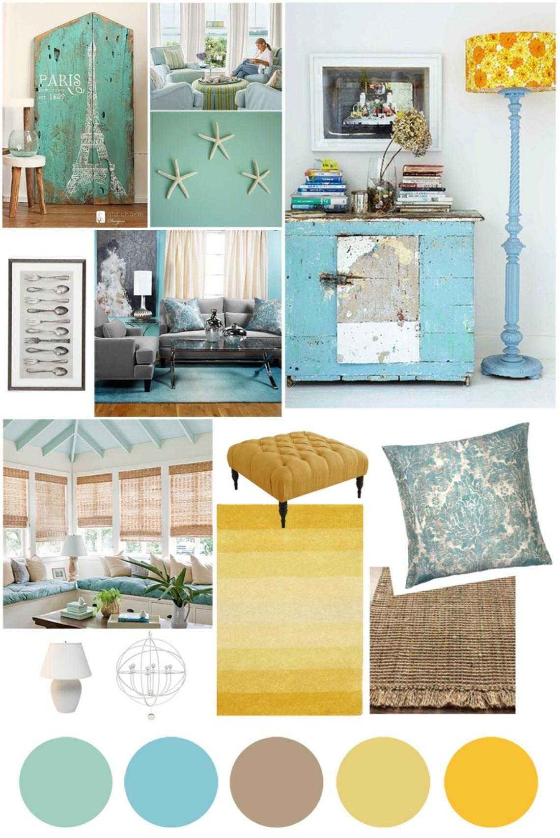 Mood Board New Summer Trends Interior Design