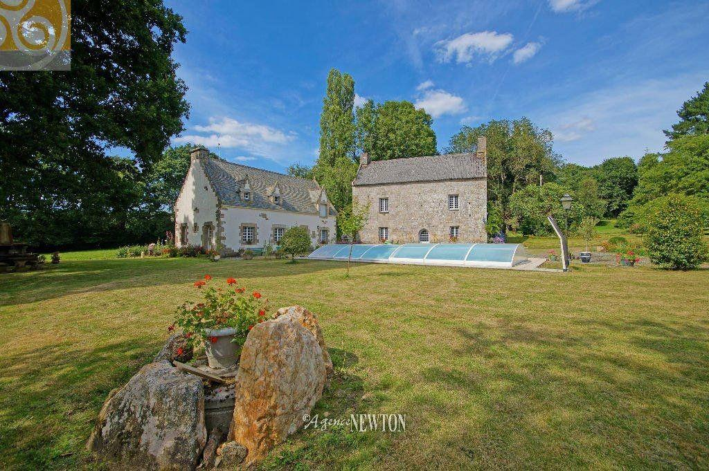 Morbihan Blavet Valley Riverside Manor House Acres