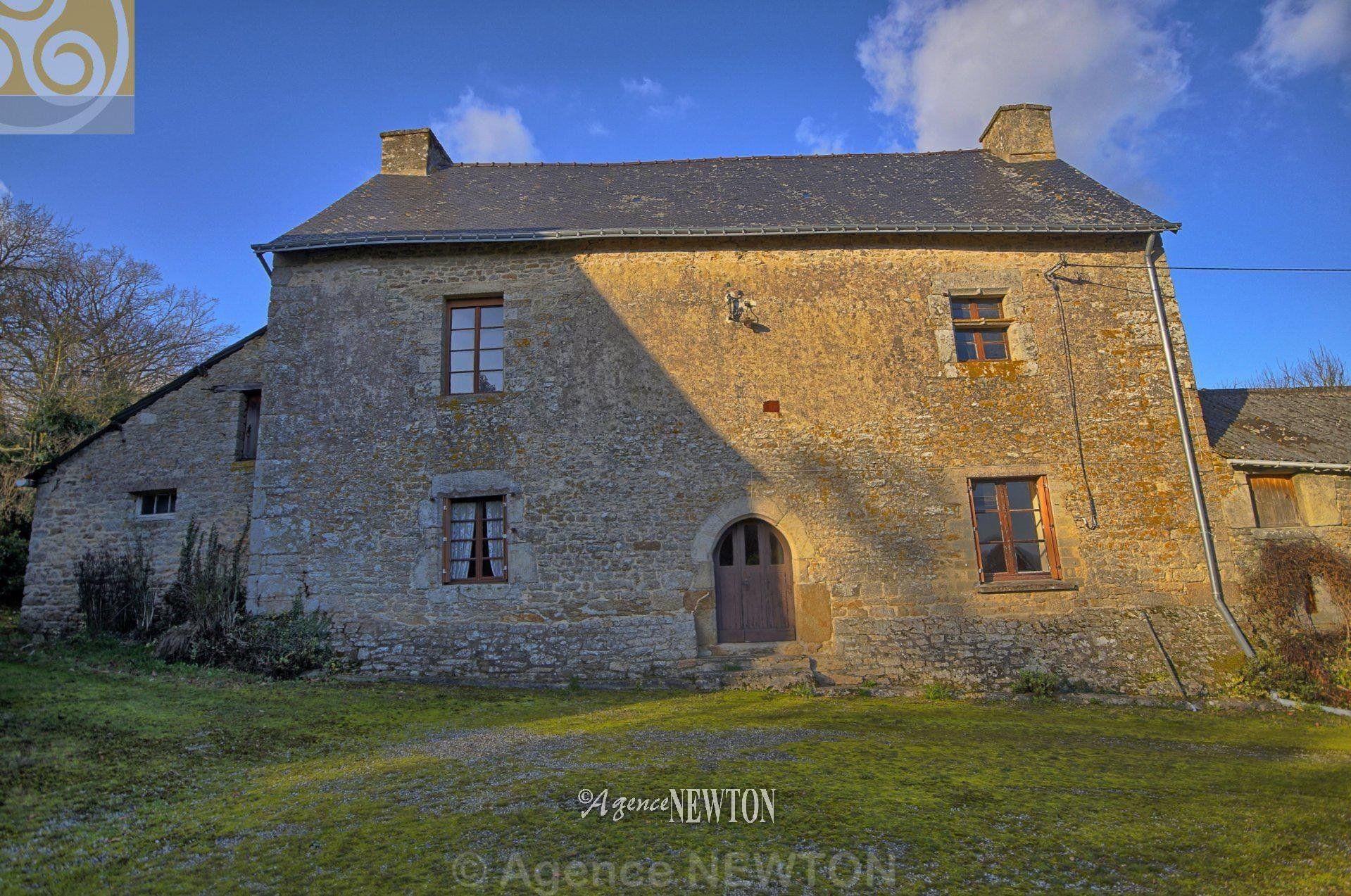 Morbihan Pontivy Historical Farmhouse Acres