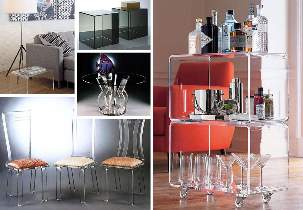More Acrylic Furniture Finds Sleek Style